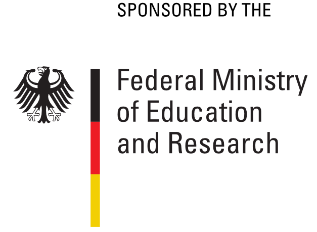 This project is         sponsored by the Federal Ministry of Education and Research